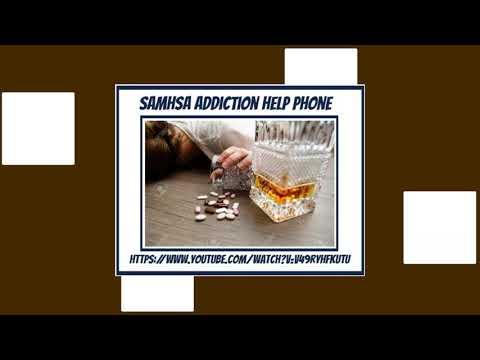 SAMHSA Addiction Helpline