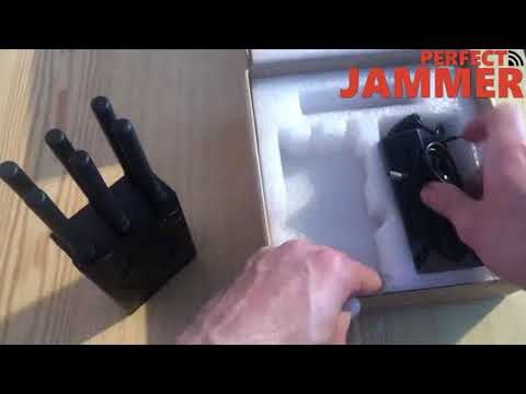 Handheld 6 bands high power wifi jammer wireless bluetooth