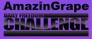 AmazinGrape Daily Freedom Challenge