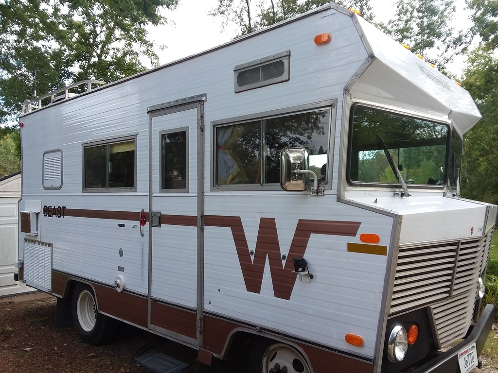 1972 Winnebago Brave for sale $12,900 OBO near Milwaukee