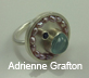 Faceted Stone Setting Workshop with Artist Adrienne Grafton