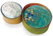 Torch-fired enameling