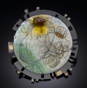 """Anne Havel Workshop """"Some Like it Hot: Torch-fired Enameling"""" July 20-26 at Touchstone"""
