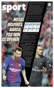 Messi inspires Barca