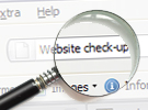 Website check-up Crashcourse