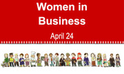 the future of Women in Business