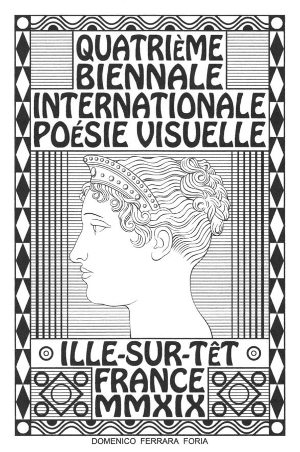 Domenico Ferrara Foria - 4ème Biennale internationale de poésie visuelle - Ille sur Têt - 2019