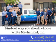 HVAC Contractor - White Mechanical, Inc.
