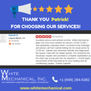 Review - White Mechanical, Inc. -