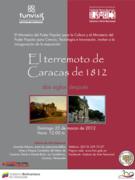 Exposición El terremoto de Caracas de 1812. Dos siglos después
