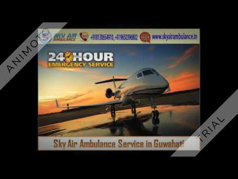 Choose Air Ambulance Service in Guwahati with Advanced Medical Resources