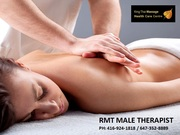 RMT Male Therapist | Best Massage Services in Toronto