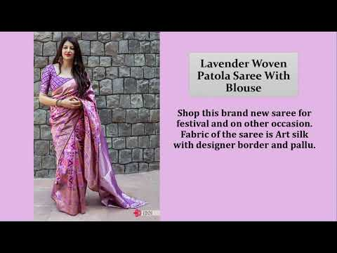 Update your look with the latest designer sarees