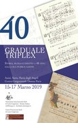 GRADUALE TRIPLEX: storia, ruolo, impatto a 40 anni dalla sua pubblicazione.