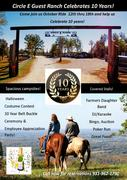 October Ride and Circle E Guest Ranch 10 Years Celebration