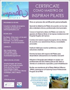 Certificación para Maestro de Inspirah Pilates 450hrs