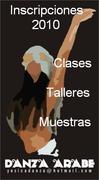 Inicio de Clases y Cursos Danzas Arabes 2010