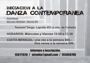 Iniciación a la Danza Contemporánea