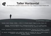 Taller Horizontal de Producción y Gestión Cultural
