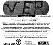Participe do V::E::R 2011 Encontro de Arte Viva