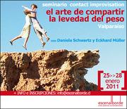 Seminarios Internacionales CONTACT IMPROVISATION en VALPARAISO y TALCA