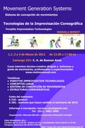 Tecnologías de la Improvisación/Seminario técnico-creativo a cargo de Manuela Berndt(Alemania)