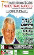 ENCUENTRO INTERNACIONAL DE CULTURAS NUESTRAS RAÍCES 2012 CONVOCATORIA