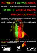 WORKSHOP audición - Grupo Estable Improvisación Escénica en Artes del Movimiento !