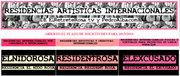 RESIDENCIAS ARTÍSTICAS INTERNACIONALES 2013-2014