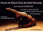 INTENSIVO FEBRERO de la Clínica de Teatro Físico de Yamil Ostrovsky