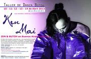 TALLER INTENSIVO DANZA BUTOH con Ken Mai