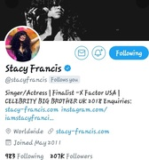 SHOUT OUT TO STACY FRANCIS... THX FOR SUPPORTING YO BOYZ #YoungGifted3000