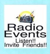 Radio Event on streaming radio Feb. 12, 9:15 AM