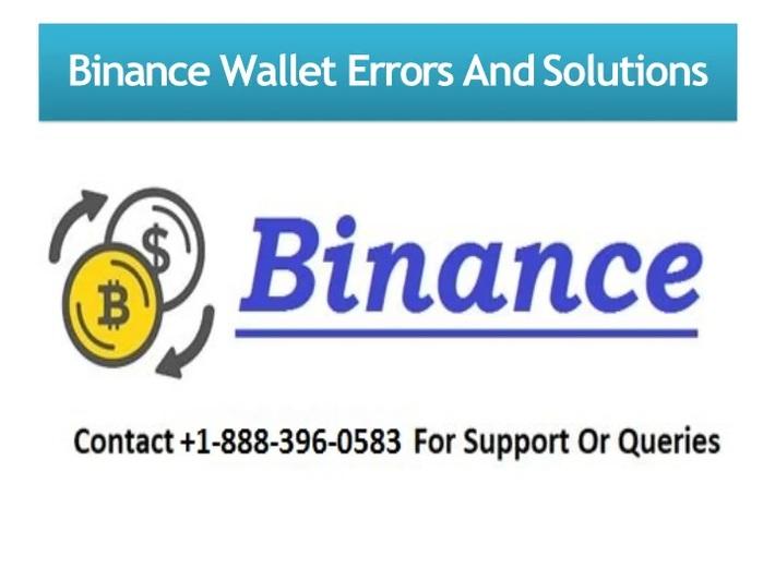 Binance Customer Suppot number