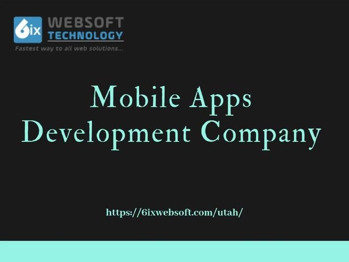 Mobile Apps Development Company Utah