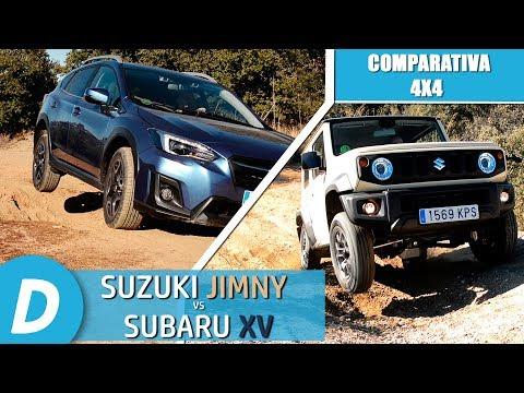 Comparativa 4x4 ¡al límite!: Suzuki Jimny vs Subaru XV | Prueba Offroad | Diariomotor