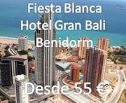 BENIDORM FIESTA BLANCA SINGLE EN HOTEL GRAN BALI