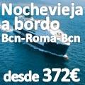 Nochevieja a Bordo Barcelona-Roma-Barcelona