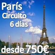 París, la Ciudad de la luz desde 750€ Salidas Julio Agosto y Septiembre