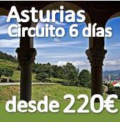 Asturias 6 dias :: desde 220€ :: con Pensión Completa y transporte desde todas las ciudades ::
