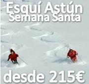 Semana Santa 2013 Esquiando en Astun desde 215€