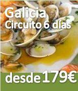 Circuito ::Galicia 6 dias :: Pensión Completa :: desde 179€