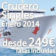 Crucero con Grupo de Singles Enero 2014 por solo 249€ tasas incluidas!!