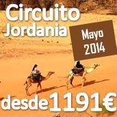 Jordania : Mayo : 8 días 7 noches desde 1.191,80€