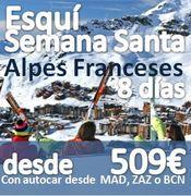 Esqui en Semana Santa en Alpes Franceses :: Bus 1 Completo :: Ultimas plazas en Bus 2