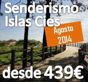 + 50 Apuntados :: Agosto 2014 :: Senderismo en Islas Cies :: Media pensión :: desde 439€