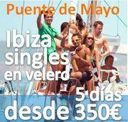 + de 25 SIngles Apuntados :: Ibiza Singles en Velero :: Puente de Mayo :: 2014 :: 5 días desde 350€
