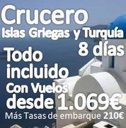 Crucero Para Singles :: Islas Griegas :: 8 Días 7 noches :: Régimen Todo Incluido:: Desde 1.069€