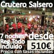 + de 150 apuntados : Crucero Salsero : Puente de Noviembre 2014