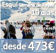 +150 ASISTENTES :: ESQUI SEMANA DE REYES :: ALPES FRANCESES